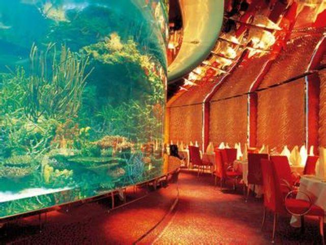 迪拜七星帆船爱儿玛哈海底餐厅