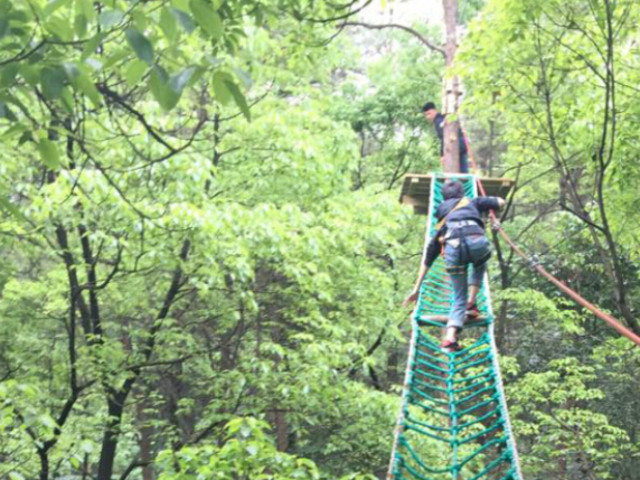 重庆飞越丛林户外冒险乐园