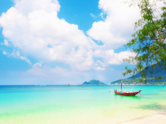 玩在苏梅——湄南海滩Hat Mae Na